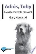 libro Adiós, Toby