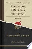 Recuerdos Y Bellezas De España