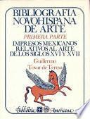 libro Bibliografía Novohispana De Arte
