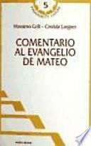libro Comentario Al Evangelio De Mateo