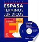Diccionario Espasa Términos Jurídicos