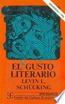 libro El Gusto Literario