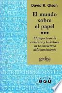 libro El Mundo Sobre El Papel