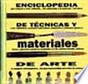 libro Enciclopedia De Materiales Y Técnicas De Arte