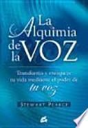 libro La Alquimia De La Voz