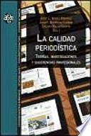libro La Calidad Periodística