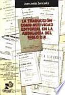 libro La Traducción Como Actividad Editorial En La Andalucía Del Siglo Xix