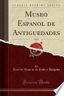 libro Museo Español De Antigüedades, Vol. 8 (classic Reprint)