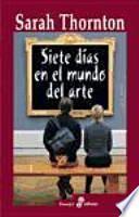 libro Siete Días En El Mundo Del Arte
