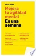 libro Mejora Tu Agilidad Mental En Una Semana