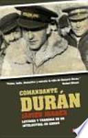 libro Comandante Durán