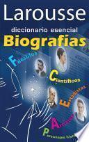 libro Diccionario Esencial Biografías