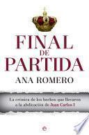 libro Final De Partida