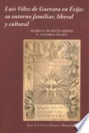 libro Luis Vlez De Guevara En Ecija