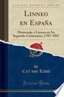 libro Linneo En España