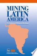 libro Minería Latinoamericana