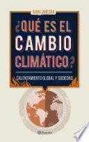 libro ¿qué Es El Cambio Climático?