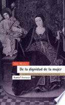 libro De La Dignidad De La Mujer