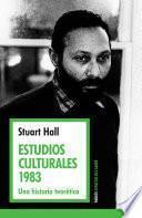 libro Estudios Culturales 1983