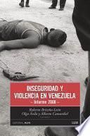 libro Inseguridad Y Violencia En Venezuela