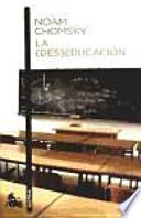 libro La (des)educación