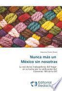 libro Nunca Más Un México Sin Nosotras