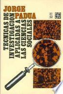 libro Técnicas De Investigación Aplicadas A Las Ciencias Sociales