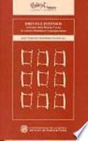 libro Breves E Intensos: Artículos Sobre Relatos Cortos De Autores Británicos Contemporáneos