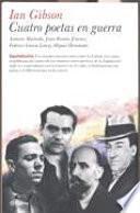 libro Cuatro Poetas En Guerra