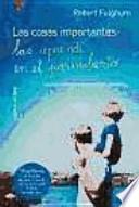 libro Las Cosas Imprortantes Las Aprendí En El Parvulario
