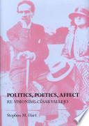 libro Politics, Poetics, Affect