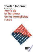 libro Teoría De La Literatura De Los Formalistas Rusos