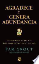 libro Agradece Y Genera Abundancia