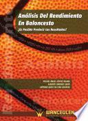 libro Análisis Del Rendimiento En Baloncesto ¿es Posible Predecir Los Resultados?