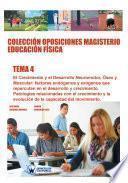 libro Colección Oposiciones Magisterio Educación Física. Tema 4