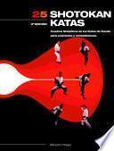 libro Veinticinco Shotokan Katas