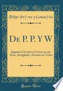 libro De P. P. Y W
