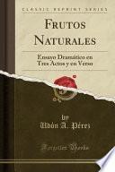 libro Frutos Naturales