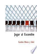 libro Jugar Al Escondite