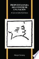libro Propuestas Para (re)construir Una Nación