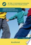 libro Actividades De Educación En El Tiempo Libre Infantil Y Juvenil. Sscb0209