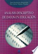 libro Análisis Descriptivo De Datos En Educación