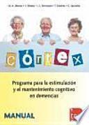 libro Cortex, Programa Para La Estimulación Y El Mantenimiento Cognitivo En Demencias