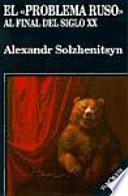 libro El Problema Ruso