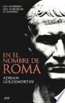 libro En El Nombre De Roma