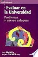 libro Evaluar En La Universidad