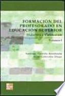 libro Formación Del Profesorado En Educación Superior