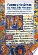 libro Fuentes Históricas De Alcalá De Henares