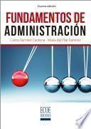 libro Fundamentos De Administración