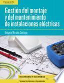 libro Gestión Del Montaje Y Mantenimiento De Instalaciones